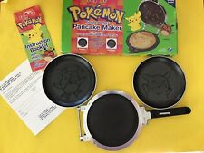 Pokemon Pikachu Hoothoot Flip-It Stove Top Griddle Pancakes by Range Rider Rare