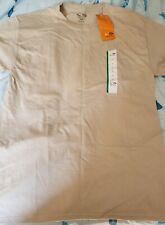 Champion Tan Men's size Medium Tee Shirt 100% Cotton