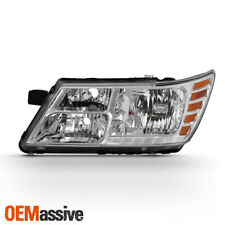 Fits 2009-2018 Dodge Journey Chrome Left Driver One Side  Headlight Replacement