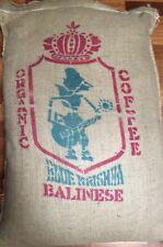 3 - 20 lbs Green Coffee Beans Bali Blue Moon Certified Organic - RFA Fast Ship