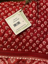 Vera Bradley Quilted Garment Bag-New With Tags-Nantucket Red-retired 2005