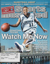 Sports Illustrated Mar 8 2004 Sebastian Telfair Basketball Jake Delhomme
