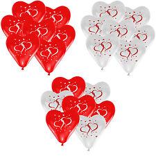 Herz Luftballons Ø 30 cm Herzen Farbe & Stückzahl frei wählbar Herzballons