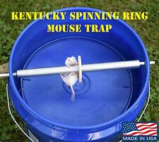 Kentucky Spinning Ringer Mouse Trap - The Original- USA MADE-Bucket Not Included