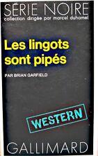 ++BRIAN GARFIELD les lingots sont pipés 1974 GALLIMARD western++