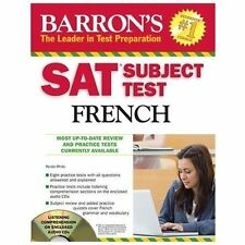 NEW - Barron's SAT Subject Test French with Audio CDs, 3rd Edition