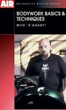 Bodywork Basics & Techniques How-To DVD with K-Daddy by Airbrush Action Magazine