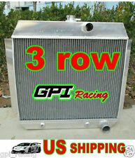 3 ROW Chevy 1951-1954 for cars W/COOLER 51 52 53 54 Aluminum Radiator New