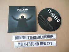 CD indie placebo-for What It 's Worth (1 canción) Promo dreambrother