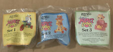 Muppet Babies 1986 McDonald's Happy Meal Toy Lot of 3 NIP