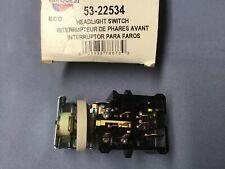 Headlight Switch 53-22534 fits 1987-1994 Mercury Topaz Lynx, FORD,MGMT. SYSTEMS