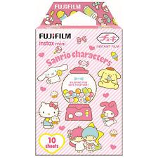 1 Pack 10 Photos Sanrio Characters FujiFilm Fuji Instax Mini Film Polaroid SP-2
