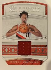 2019-20 Panini Crown Royale Knights Of The Round Table Hassan Whiteside Card