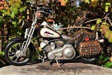 Handmade Tin Motorcycle Model - Harley Davidson FXSTS Springer Softail - Metal