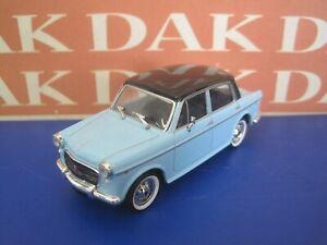 Die cast 1/43 Modellino Auto Fiat 1100 Bicolore Azzurro Nero 1962 by Starline