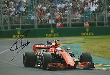 "Stoffel Vandoorne ""McLaren 2017"" Autogramm signed 20x30 cm Bild"