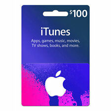 Apple 100$ Gift Card for iTunes
