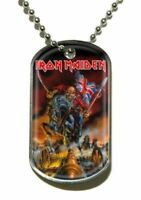 Iron Maiden England Dog Collana Con Targhetta 200660 #