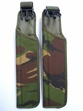 BRITISH ARMY SURPLUS IRR DPM FROG WEBBING SA80 BAYONET SCABBARD SHEATH, LOT OF 2