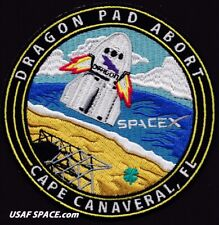 DRAGON PAD ABORT TEST - SPACEX ORIGINAL - CREW CAPSULE - CCAFS TEST SPACE PATCH