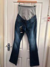 Next Maternity Womens Blue Bootcut Jeans Size 8 Reg BNWT
