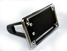 2007 ZX14 Peg Mount Tag Bracket w/Chrome Plate Cover