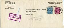 U.S. Scott 829 and 810 Prexies on Registered Coast Guard Cover