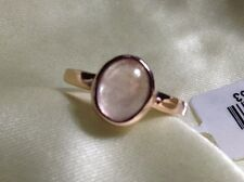 2.25 Ct, Marropino, Morganite Ring, Solitaire, Rose Gold Overlay Sterling Silver