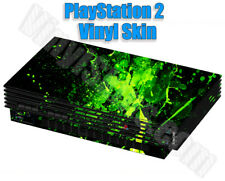 Any Custom Vinyl Skin / Decal Design for the PlayStation 2 Console -Free US Ship