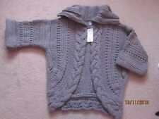 NEW With Tags - Ladies Chunky Knitted Cardigan/Jacket - Size M - Next