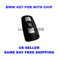 Key Fob Remote w/ CHIP BATTERY for BMW 1 3 5 6 Series E90 E91 E92 E60 US SELLER