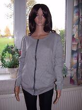 Strickjacke Cardigan ONLY  grau hellgrau mit Taschen Größe XL neu