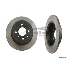 One New OPparts Disc Brake Rotor Rear 40521017 42510S5AA00 for Honda Civic