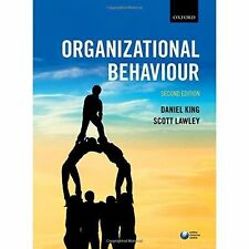 Organizational Behaviour by Daniel King, Scott Lawley (Paperback, 2016) 2nd
