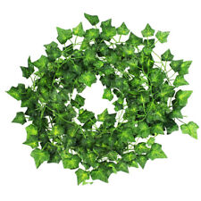 Artificial Ivy Vine Faux Leaf Garland Plants Wedding Plant Foliage Garden Decor
