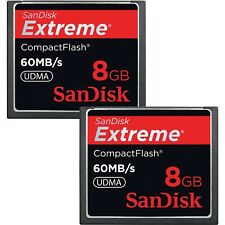 Sandisk Extreme 8GB 60MB/s UDMA Compact Flash (CF) Memory Card Lot of 6
