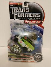 Transformers DOTM Dark Of The Moon 😎 Mechtech Autobot Ratchet 😎 Unopened