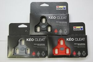 Look Road Keo Cleat (Black / Grey / Red)