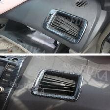 Carbon Fiber Front Side Air Vent Outlet Cover Trim For Honda Civic 2004-2009 ABS