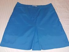 Ladies Cracked Wheat Size 10 Sport Golf Skirt Skort Blue Euc