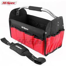 "Heavy Duty Tool Tote Bag Tools Organizer DIY 16"" Shoulder Strap Waterproof Base"