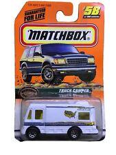 Matchbox-1999-Matel-Series 12 #58 Truck Camper