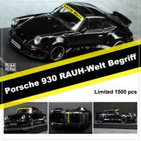 Model Collect 1:64 Porsche 930 Black RAUH-Welt Begriff RWB Works Limited Model