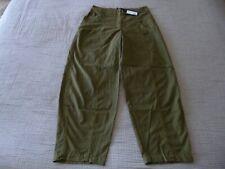 "LAST CHANCE! NWT OSKA ""Carpa"" Check Print Cotton Trousers -size 2 12/14UK RP£209"
