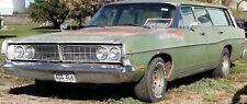 Spear trim 4 four Door 1/4 1968 Galaxie Ranch Wagon 68 Ford 67 1967