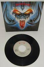 """MOTORHEAD ROCK 'N' ROLL 1987 ROADRUNNER Dutch pressed unreleased 7"""" with P/S"""