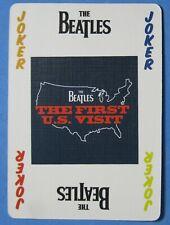 The Beatles Single Swap Playing Card Joker - 1 card