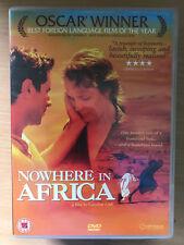 Nowhere EN AFRICA ~ 2001 Ganador De Un oscar judío interés / Alemán WW2 Drama GB