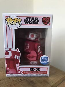 Star Wars R2 D2 Valentine Funko Pop Limited Edition 420 Pink NEW