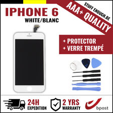 AAA+ LCD SCREEN SCHERM ÉCRAN WHITE BLANC &VERRE TREMPÉ+TOOLS FOR IPHONE 6 4.7""